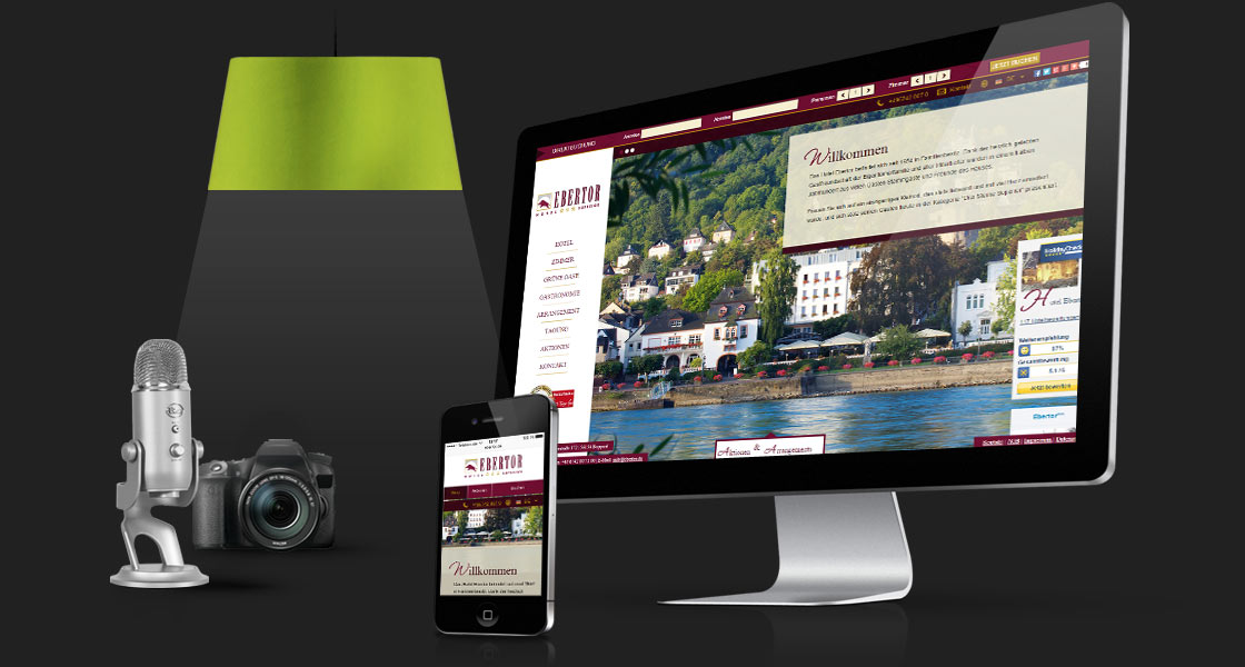 Webseite Ebertor