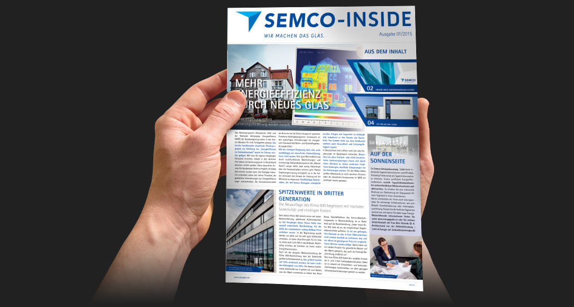Mitarbeitermagazin Semco Inside
