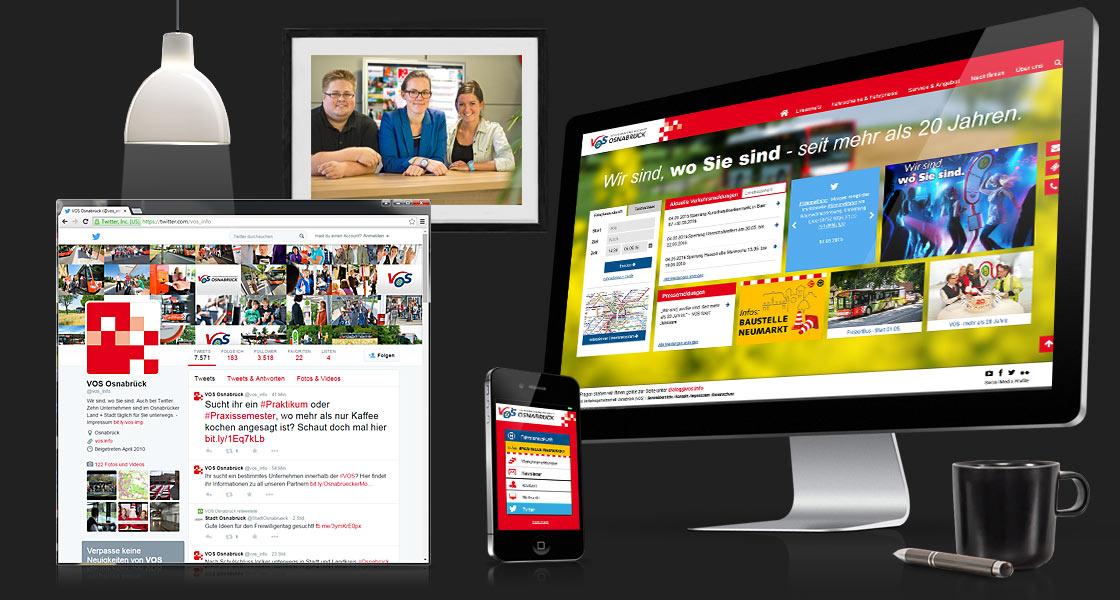 Webseite VOS