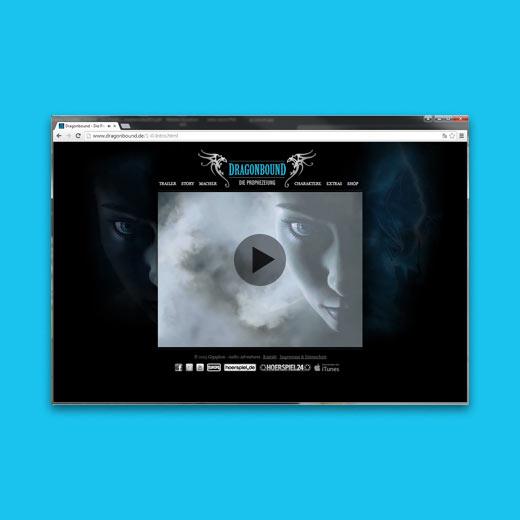 Webseite Dragonbound