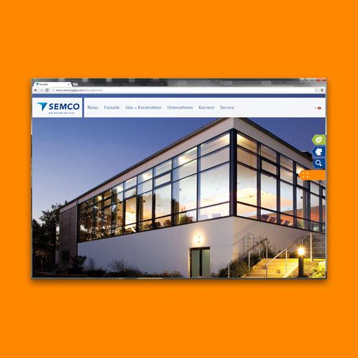Webseite Semco